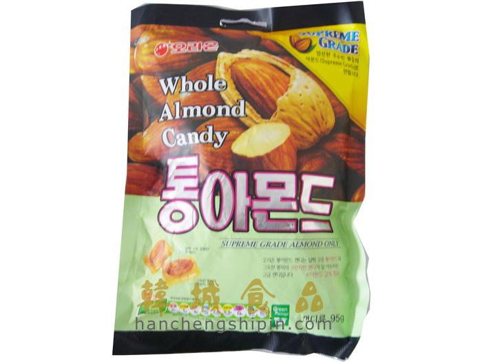 扬中超男郭威代言的韩国糖果