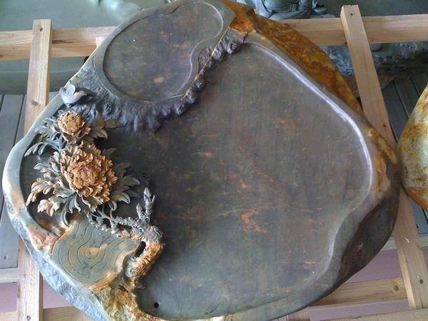 端硯茶盤 石茶盤圖片