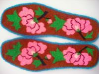手工割绒鞋垫批发