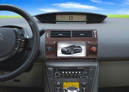 雪铁龙-凯旋世嘉车载dvd导航仪