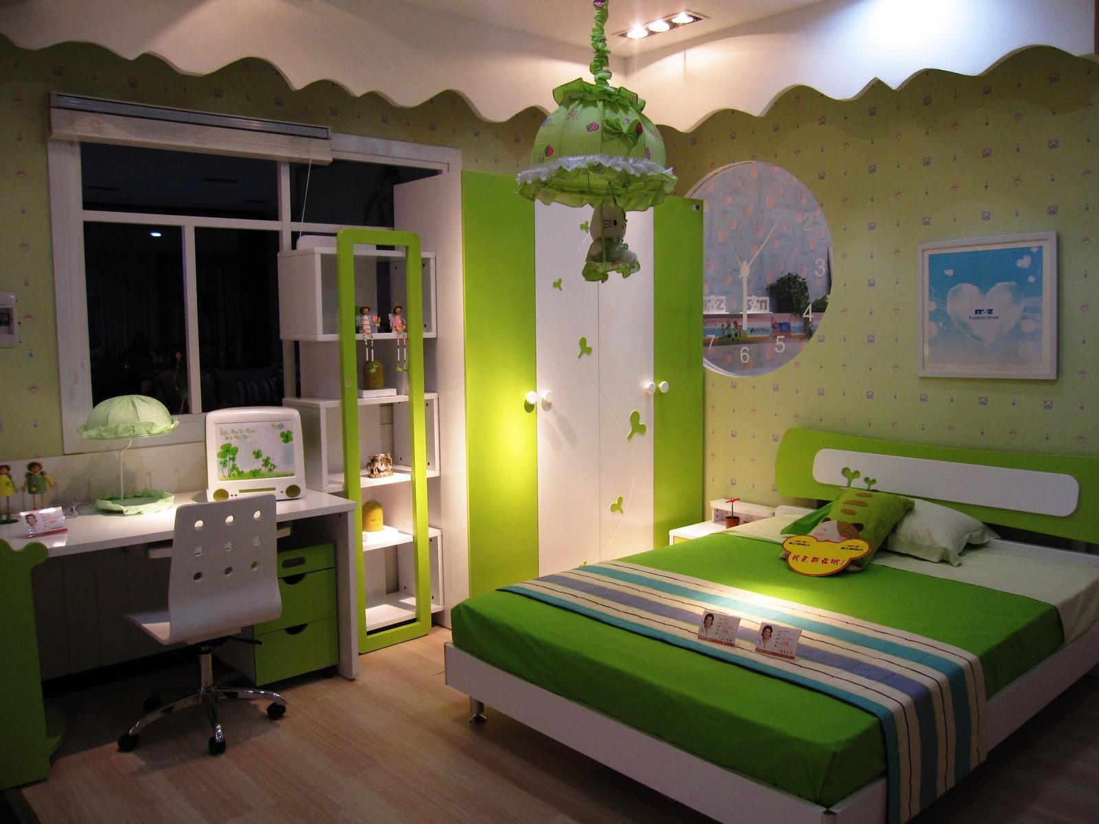 g0249 儿童套房绿