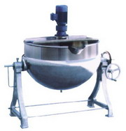 夾層鍋,可傾式帶攪拌夾層鍋,河南夾層鍋