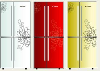 索伊对开门冰箱BCD-338D