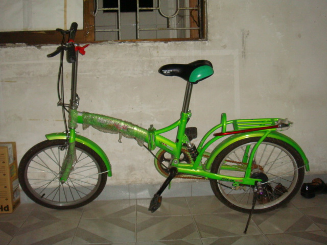 折疊式自行車九成新