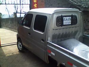 几个月的新车(长安星卡)带空调双排加长2米货车