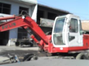 离石福临轮式80小挖360度旋转出售