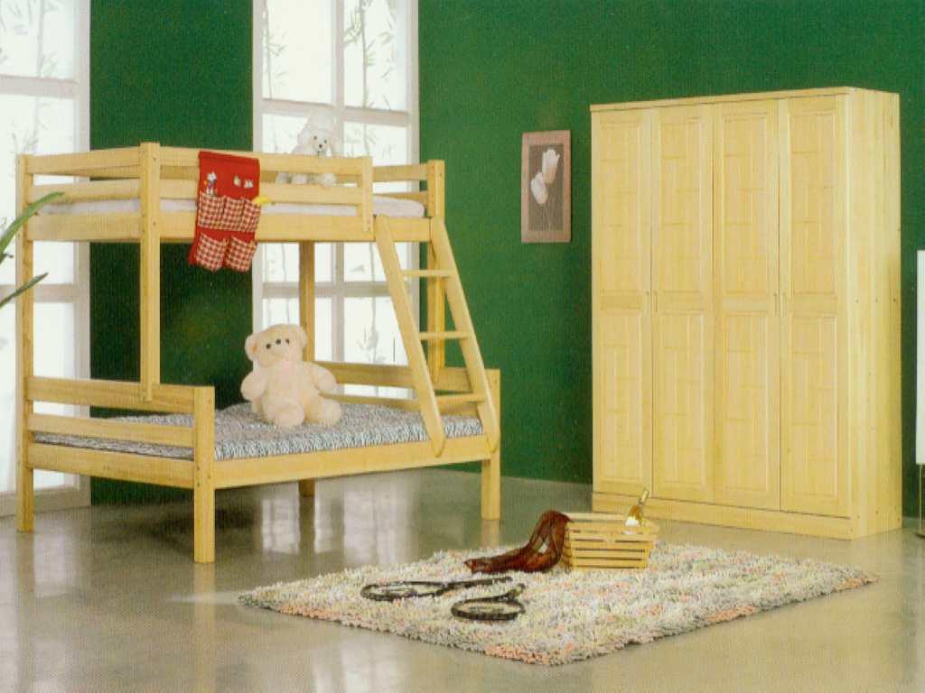 纯实木松木家具