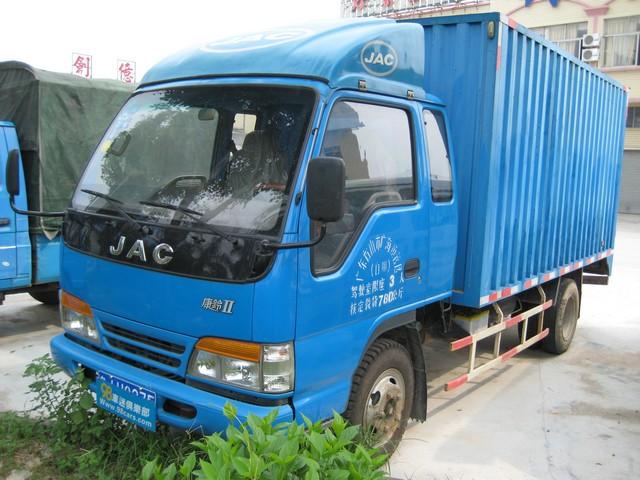 江淮厢式货车出租,车厢长4.2米,宽2米,高2米.图片