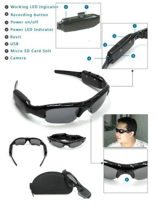 全新摄像眼镜
