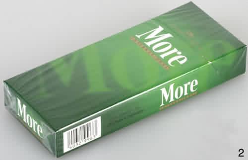摩尔硬盒50元咖啡色的瘦长烟身