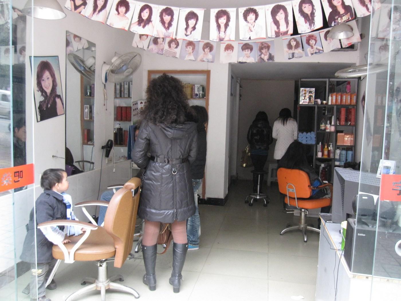 美发店装修图30平方