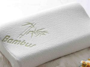 盛宇家纺 竹纤维记忆棉健康枕/护颈枕芯 保健功能枕头