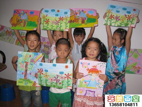 培训儿童画卡通画素描色彩速写