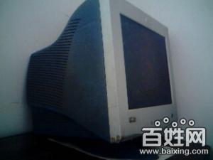 急售一台八成新台式电脑显示器。吐血价100元