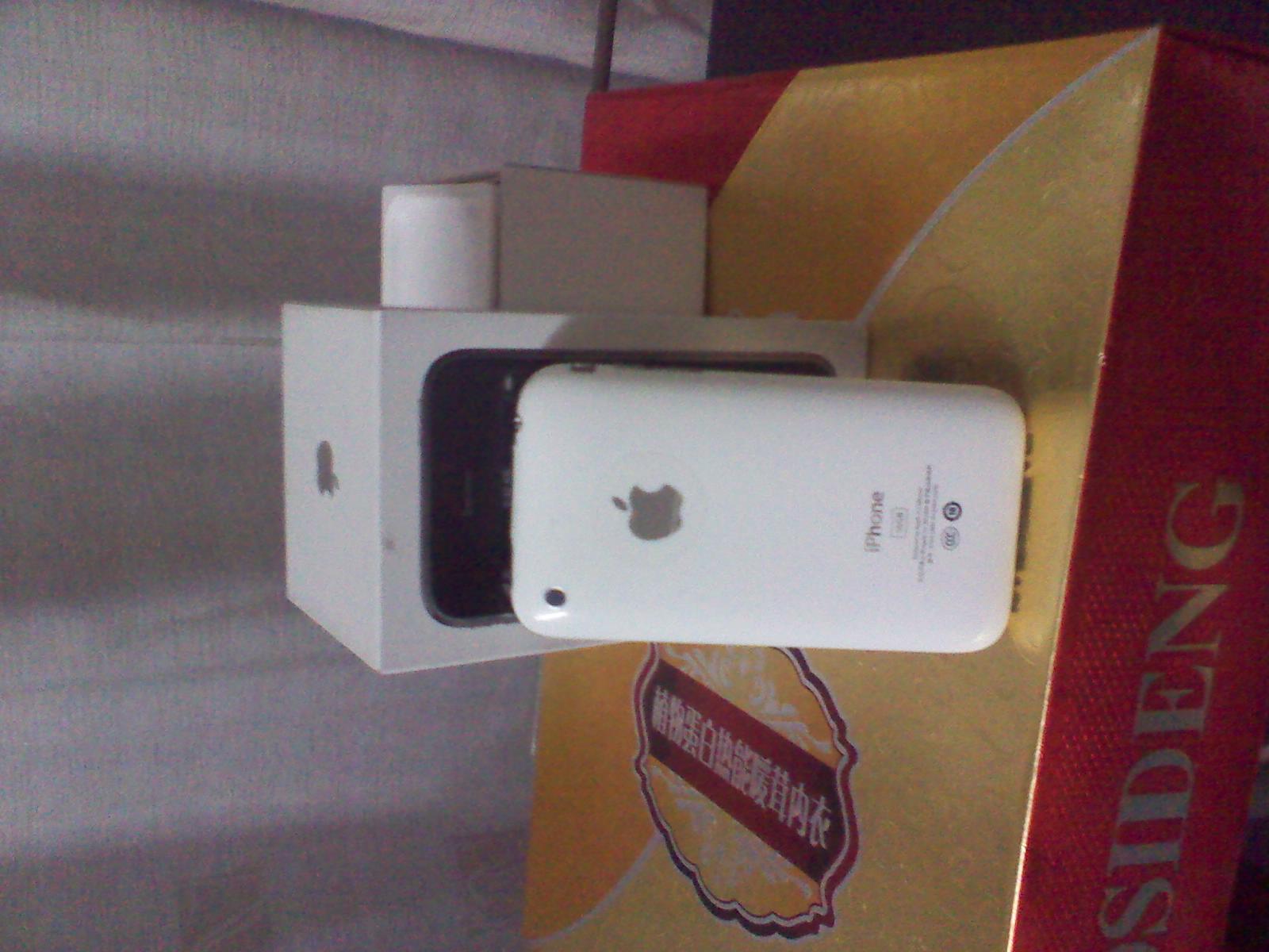 出售二手行货联通版iPhone3gs