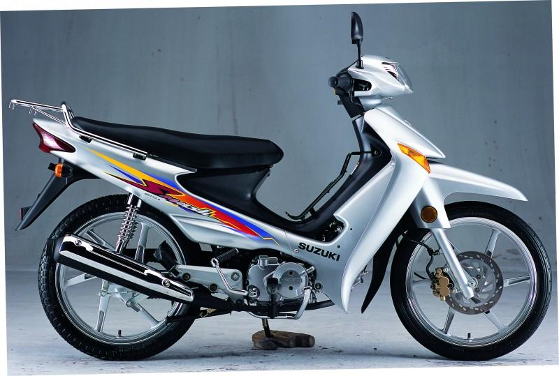 铃木欧三赛驰qs110-系列摩托车