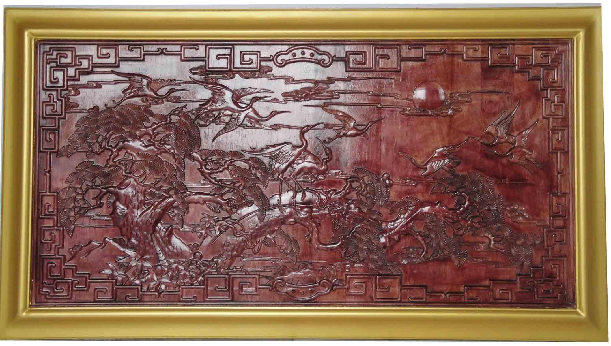 宽甸杏木雕刻图片