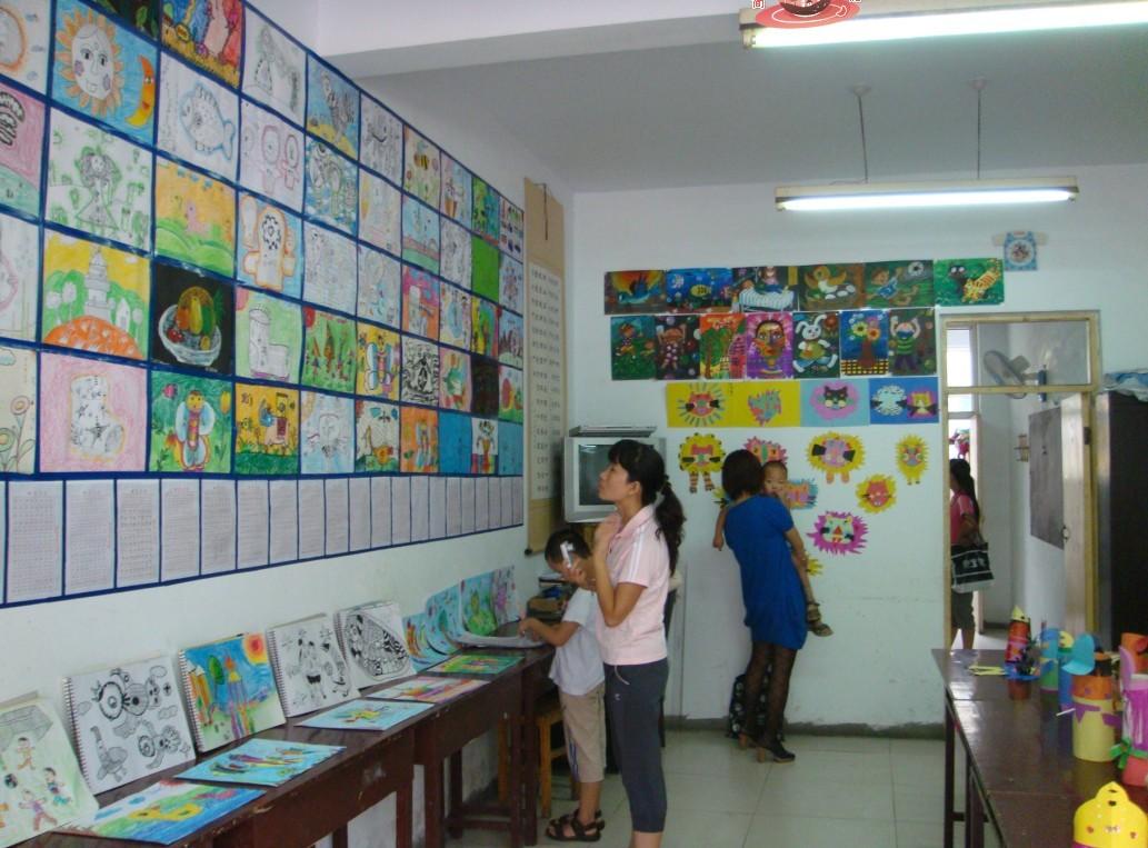 晨风画室招收暑假班学生