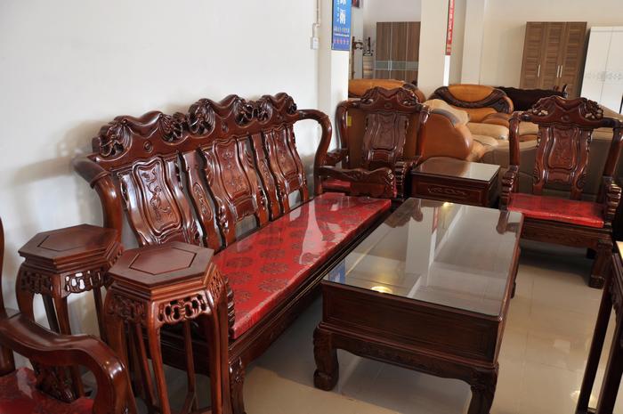 实木古典沙发