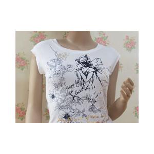 女圆领T恤(天使之恋)