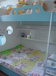 可爱多儿童床/儿童套房床/绿色环保儿童床/上下铺