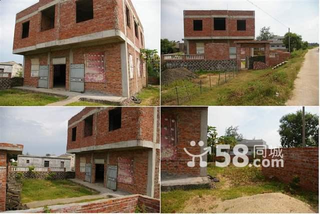 郊区两层楼及院子做建材加工或仓储(照片)