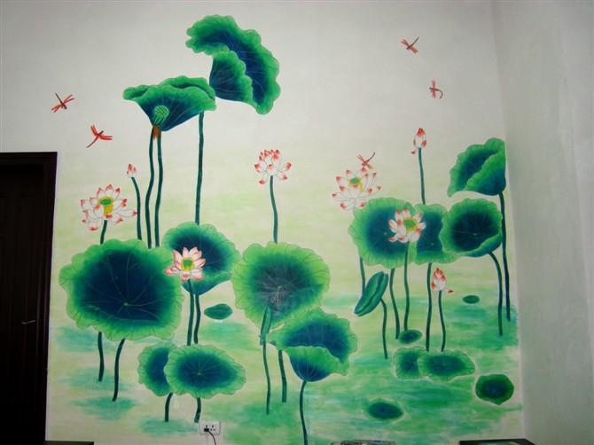 艺 彩 画 室 手绘壁画