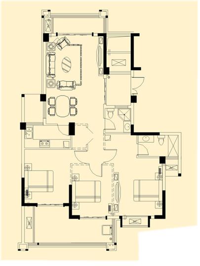 3室2�d2�l1�N