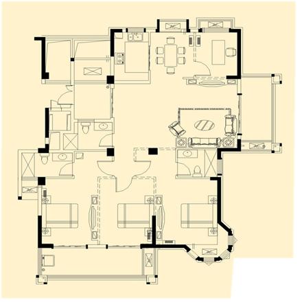 4室2�d2�l1�N