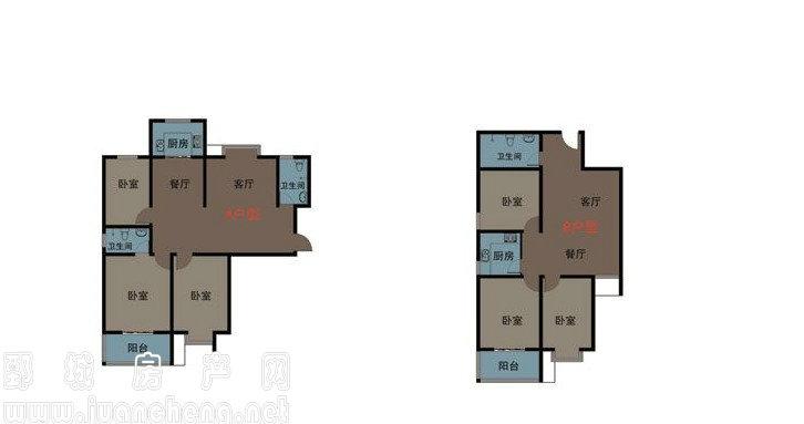 润通61国际花园楼盘规划图|户型图|实景图|样板间
