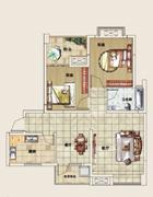 G3两室两厅单卫