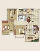 G4三室两厅单卫