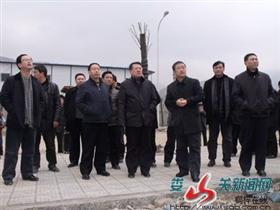 王秉清调研我县重大项目和产业园区建设 ――
