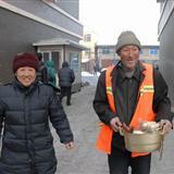 [原创]【城市图片】环卫工人获捐赠新房、搬新家