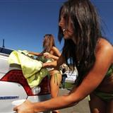 在美国人肉洗车已经演变成一种文化,文化!