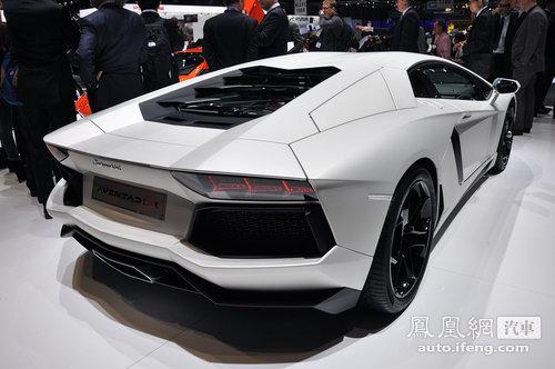 2011上海车展最快12款豪车,最慢4.8秒破百