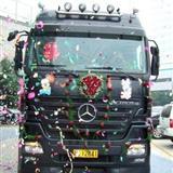 你见过这样的婚车吗 ?