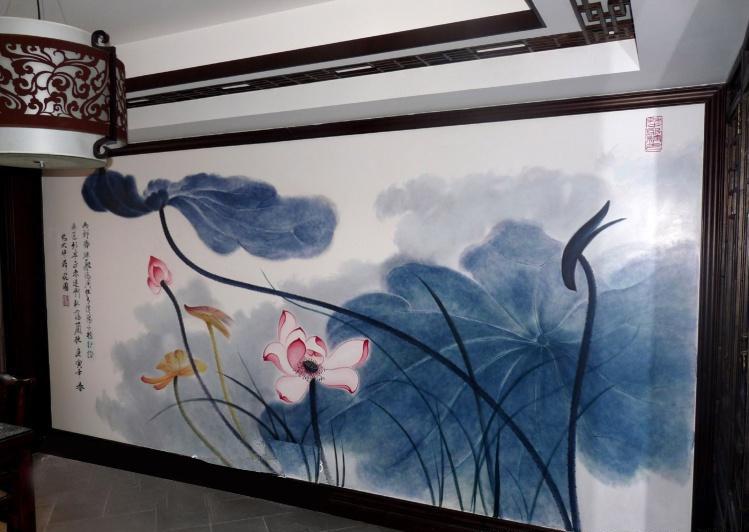 墙绘设计图案