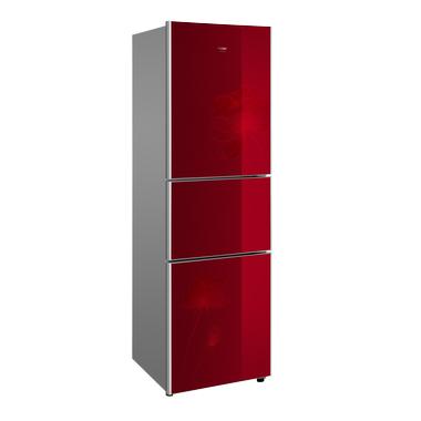 海尔冰箱 bcd-215scx(水晶红)