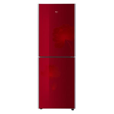 海尔冰箱 bcd-206tcx(水晶红)