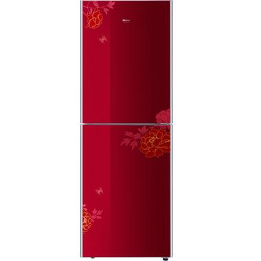 海尔冰箱 BCD-216TCX 花开富贵