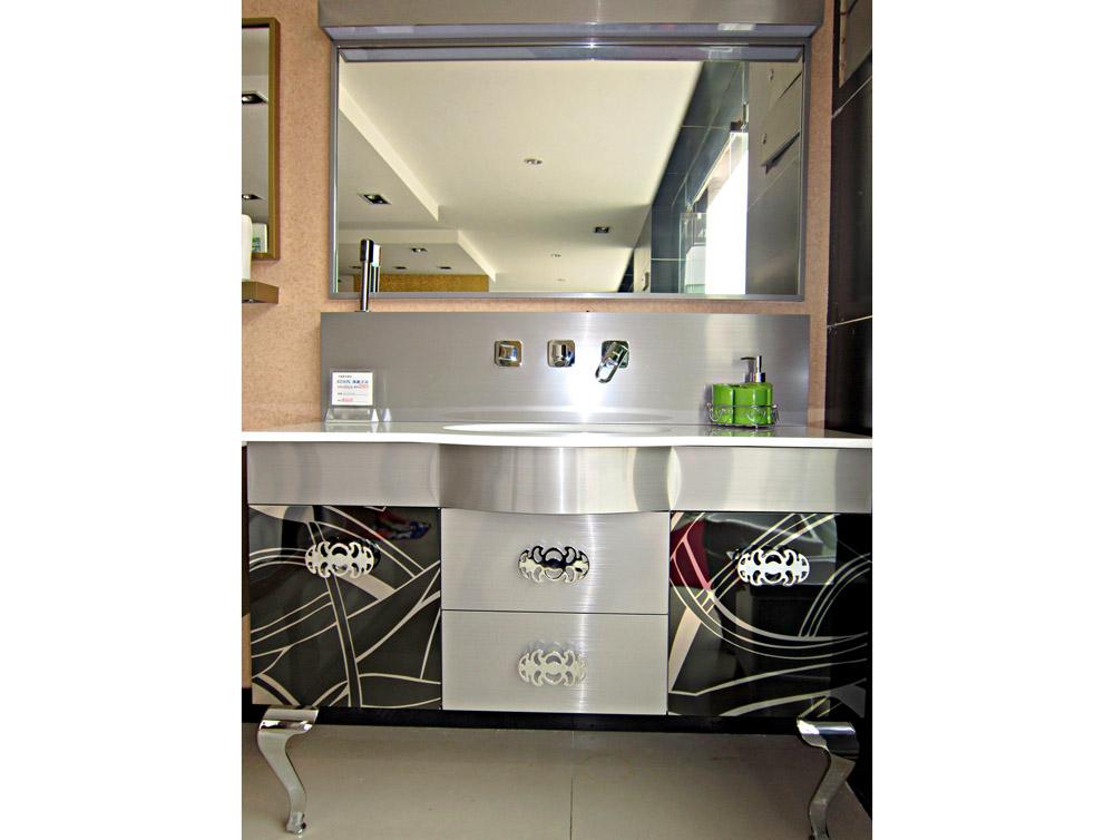 不锈钢浴室柜6