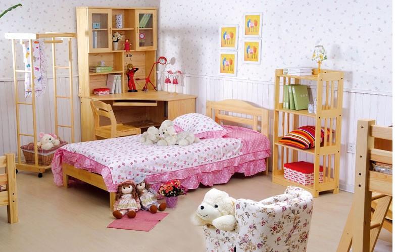 香柏年松木家具儿童系列