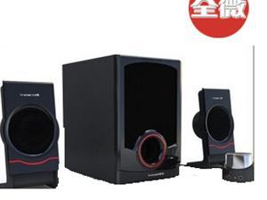 全微 音箱 全微T100N��X音箱 2.1�道有源多媒�w��X