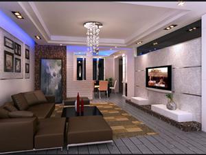 客厅装修效果图3
