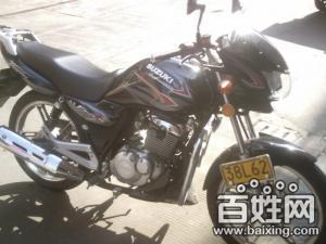 2011年5月买的铃木125 锐爽3E摩托车 全新