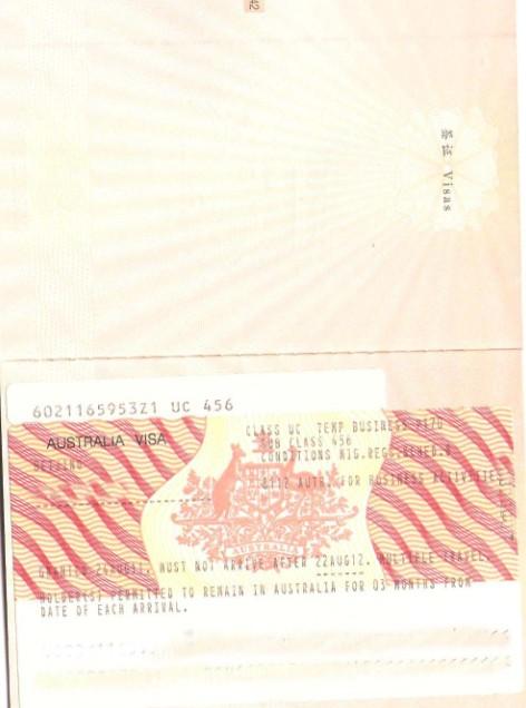 澳大利亚签证代送专家
