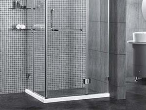 品牌名牌带置物架淋浴房