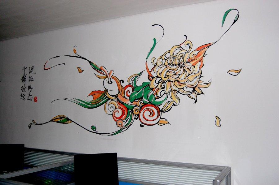 阿盟墙体彩绘