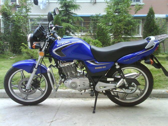 豪爵铃木en125摩托车出售
